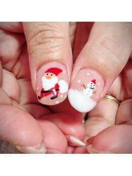 ビエンネイル(Bien nail)/クリスマスネイル