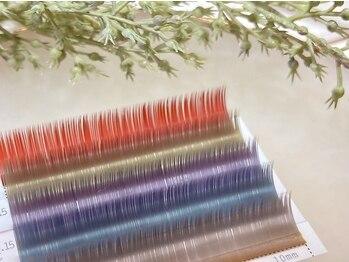 マウレア (Maulea)の写真/話題のロイッシュカラー取扱!カラーフラットラッシュ/カラーボリュームラッシュ★お洒落カラーの種類豊富♪