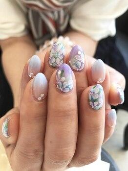 サロン アンジェラ(Salon Angela)/紫陽花