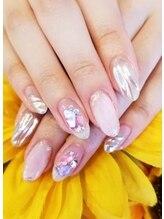 トリーシア(Nail & Beauty Salon Tri-xia)/ミラーネイル