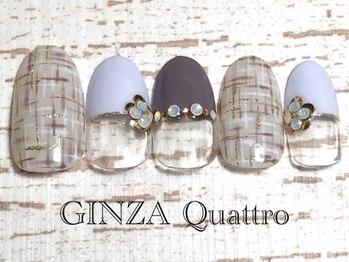 ギンザ クワトロ(GINZA Quattro)/定額/LuxuryC 8500円/パープル