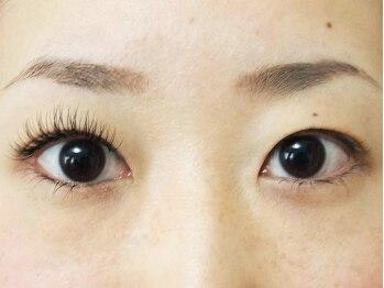 ロータスアイラッシュ(LOTUS eyelash)/【キュート】装着前後