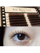ヴィヴォーグ 立川(vivogue)/flat matte lash BROWN