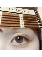 ヴィヴォーグ 立川(vivogue)/flat matte lash SHEER BROWN