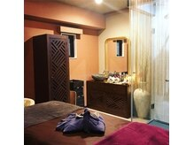 アロマヌード(aromaNUDE)の雰囲気(リラックスできるよう、お一人様だけの個室空間です。)