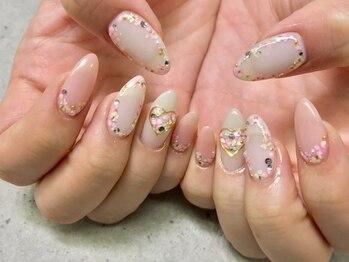 キャンネイル 金山店(Can Nail)/押し花!春ネイル