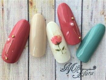ミハフルーラ 与野(Home Nail Salon Mija Flura)/シンプル 5980円 I123S