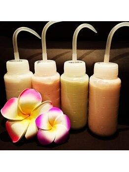 バリラックスサロン クパ(KPA)/ヘッドスパの香りは4種類♪
