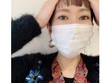 プライマリー アイラッシュネイルサロン(PRIMARY)の雰囲気(マスクをしているからこそ目元は大事。眉毛とまつ毛で目元美人に)