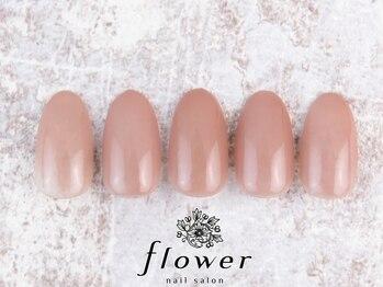 フラワーネイルサロン(flower)の写真/肌馴染みの良いスキンカラー多数ご用意!肌のお色味に合わせた調色も可能◎お客様にあったデザインご提案♪