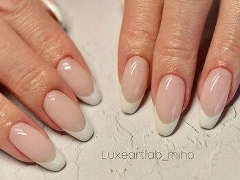 リュクスアートラボ(Luxeartlab)の写真/質にこだわる大人女性必見!!自爪への負担を最小限に抑えたフィルイン施術推奨サロン◎キープ力もUP♪