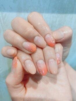 ケーオーエス(KOS)/color gradation nail