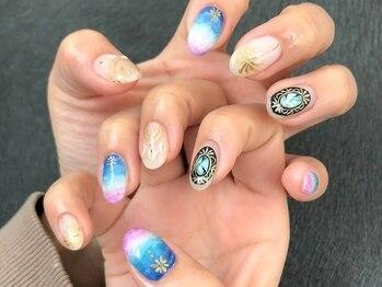 ネイルルーム エンヌ(nail room en'ne)/ネイルデザイン4