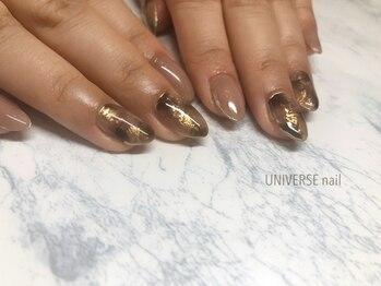 ユニバースネイル(UNIVERSE nail)/大理石☆