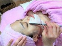 ツリー ベル(TREE BELL)の雰囲気(お顔そりでうぶ毛を取り除き明るいお肌へ生まれ変わります)
