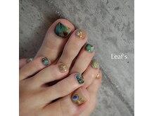 リーフズネイル(Leaf's nail)の雰囲気(FOOTネイル*繊細なアートもお任せください♪)