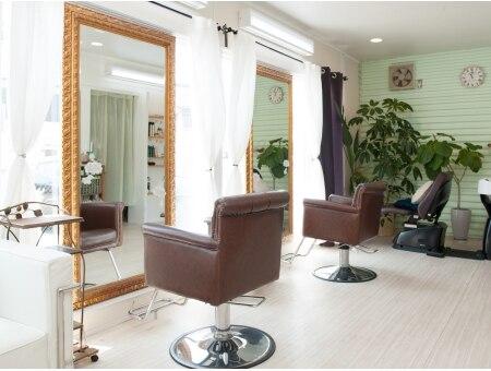 アトリエココ エステアンドネイル(CoCo)の雰囲気(美容室「アトリエCoCo」内◆併設サロンです♪)
