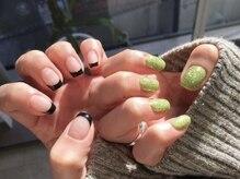 〈nail〉french nail