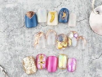 マハロ 17 ネイルズ 横浜店の写真/カラー何色でもOK!アートやり放題、ストーンもお好きなだけ付け放題!持ち込みも大歓迎☆