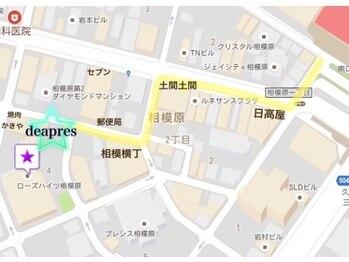 アイラッシュ デュアプレ 相模原(eyelash deapres)/地図