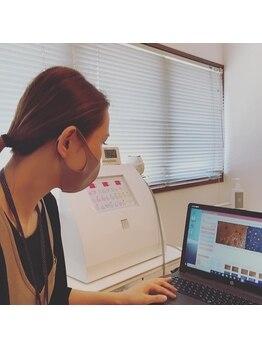 コノア ブランシェ(CONOA BLANCHE)/毛穴画像診断