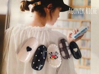 アグニークリッシェ(Agunik Riche)/【カジュアルネイル】