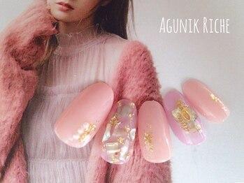 アグニークリッシェ(Agunik Riche)/【シェルネイル】