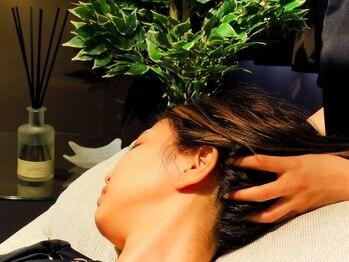 ドライヘッドスパ 夢頭空間の写真/ドライヘッドスパ専門店☆ツボの経路を辿り、癒し効果の高い施術があなたをうっとりと上質な眠りへ誘います