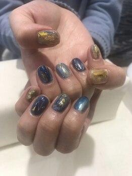 アース コアフュールボーテ 新潟紫竹山店(EARTH coiffure beaute)/アートつけ放題  ¥6900