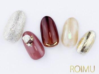 ロイム(ROIMU)/ニュアンスボルドーネイル