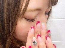 【ネイル】爪を傷つけないパラジェル使用♪トップネイリストが施術させていただきます★【横浜】
