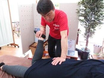 健友館ゆうき整体院/足腰の歪み痛みを緩和