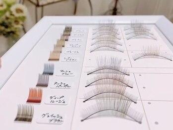 アイネイル(eyenail)の写真/【新色入荷!9色から選べる軽量フラットラッシュ¥5980~☆】9色から選べてMIXも可能!!お好みの抜け感に♪