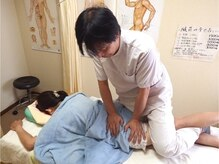 中国医学気功整体 湘南健康堂の雰囲気(姿勢が悪いなど・・骨盤の調整もお任せ♪最後のストレッチも◎)