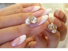 アンネイルズ(Ann Nails)の雰囲気(HAND★シンプル ¥4800 グラデー、フレンチ系、ワンポイント)