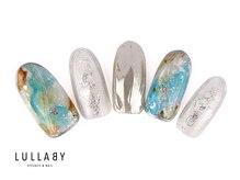 ララバイ 恵比寿店(LULLABY)/ターコイズ×シルバーネイル