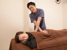 エイジングケアサロンウィル(aging care salon will)の雰囲気(《男女ok★》お悩みに合わせた施術で日々の疲れをほぐします。)