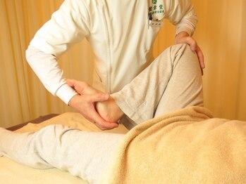 健幸堂 本店の写真/デスクワーク,立ち仕事で疲れや痛みにお悩みの方◎腰のつらさを根本から改善【美脚骨盤調整+腹部&腰¥5980】