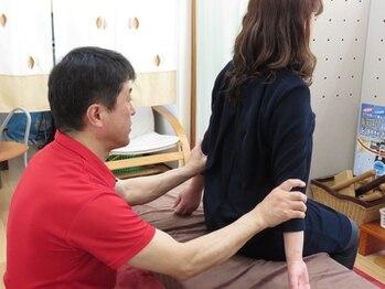 健友館ゆうき整体院/両腕のバランスもチェック!!