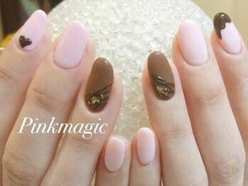 ピンクマジック(PINKMAGIC)/チョコレートネイル