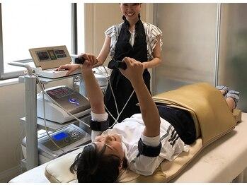 トレゾア(TRESOR)の写真/[全身痩せ☆120分]3つのマシンを同時施術&ラジキャビでスッキリボディに♪