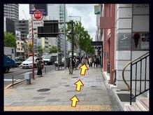 アンフィ トーキョウ 表参道店(Amphi Tokyo)の雰囲気(そのまま真っ直ぐ30秒)