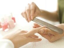 自爪の健康のためマシンオフは行っておりません。