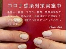 フルーネイル(Fleurs Nail)の雰囲気(コロナ対策実施中.マスク.手洗い.空気清浄.換気.検温.消毒など)
