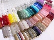 ネイルサロン リコット イオンモール秋田店(Ricott)の雰囲気(約120色の中からお選びいただけます♪)