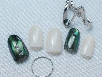 ネイル ジー(Nail g)/ミラーネイル シンプルコース