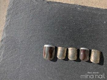 ミーナネイル(mina nail)/FOOT DESIGN 8,500円