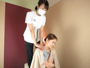 整体院オアシス(OASIS)の写真/首肩のコリや痛みでお悩みの方へ◎