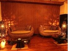 バリロミ(Bali Lomi)の雰囲気(待合スペースもバリ風のスタイリッシュな空間!)