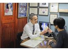 富崎カイロプラクティックオフィスの雰囲気(皮膚温度測定で神経伝達の状態をチェック☆)